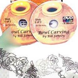 Bowl Carving With Master Carver Bill Janney (2 Dvds)