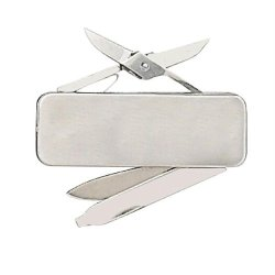 Fury Money Clip, 2.25 In., Blade/File/Scissors W/Clip Fp44473