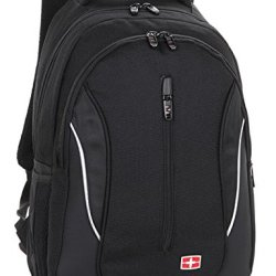 Victoriacross Business And Casual Travel Gear Laptop Daypack Backpack. Ipad Teblet Sports Outdoor School. Journey Trip Camping Bag Hiking.Fashion Macbook Computer Notebook Vc5200-Black