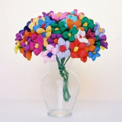Mexican Paper Flower Bouquet