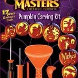 Pumpkin Masters Pumpkin Carving Kit With 12 Patterns & Tools