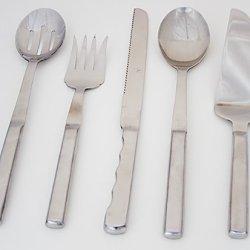 5 Piece Elegant Utensil Serving Set