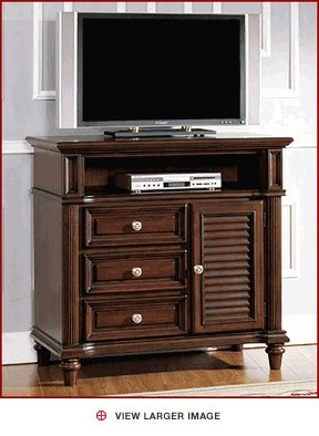 Image of Fairmont Designs Tamarind Grove Twilight Roast Finish TV Stand (909-50)