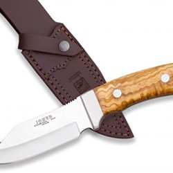 Joker Co55Usa Skinner Knife And Olive Handle, 4.68-Inch