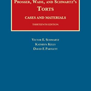 1609304071 - Torts, Cases and Materials (University Casebook Series)