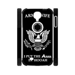 Jdsitem Unique Proud Army Wife Design Dual-Protective Case Cover Sleeve Protector For Phone Samsung Galaxy S4 I9500