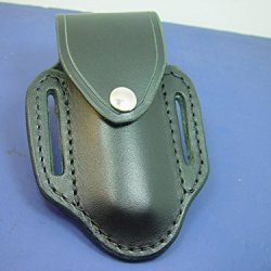 Buck 110 Knife Sheaththe Sheath Is Made Out Of 8 Oz. Black Leather.It Can Be Worn On The Right Or Left Side .It Has A Flap And Snap To Secure The Knife In The Sheath.The Knife Is Not Includedthis Is Sheath Only.