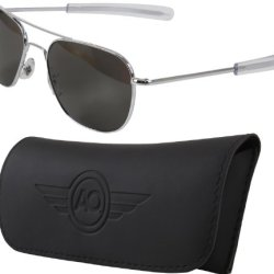 "Fox Gi ""Original Af Pilots"" Sunglasses, Silver, 57Mm"