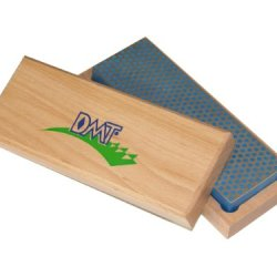 Dmt W6C  6-Inch Diamond Whetstone Sharpener, Coarse  With Hardwood Box