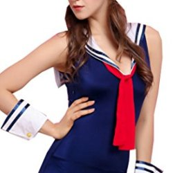 Fedo Sexy Anime For Sailor Navy Feelings Role Play Costume Set