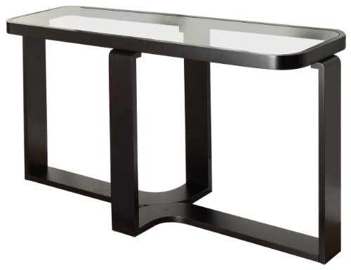 Image of Legacy Commercial Console Table in Black Finish (LC6209CNBL)