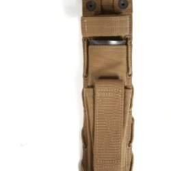 Spec-Ops Brand Combat Master Knife Sheath 8-Inch Blade (Coyote Brown, Long)