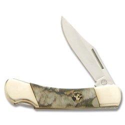 Frost Cutlery Whitetail Cutlery Warrior Lockback With Next G1 Vista Camo Handle