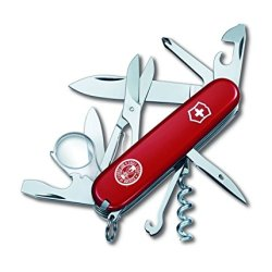 Victorinox Swiss Army 54781 Explorer Eagle Scout, Red