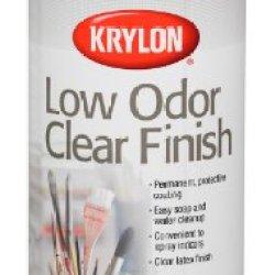 Krylon 11-Ounce Low Odor Clear Matte Finish Aerosol Spray