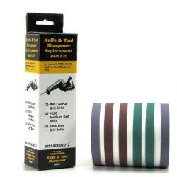 Work Sharp Knife & Tool Sharpener Replacement Belt Kit (Wskts & Wskts-Kt Only)