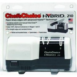 Chef'S Choice Hybrid Knife Sharpener No. M210 2 Stage,Diamond Hone