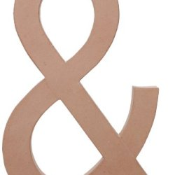 Paper Mache Symbol - Ampersand - 23.5 Inches