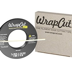 Wrapcut Pro, Edge Cutting Tape, 3/16-Inch X 150 Feet, 1 Roll, 883662001291