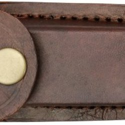 Pakistan 4In. Leather Belt Sheath, Brown 203323-4