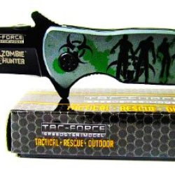 Zombie Hunter Tactical Rescue Outdoor Stainless Steels Pocket Knife