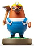 amiibo Mr. Resetti (Animal Crossing series) Japan Import