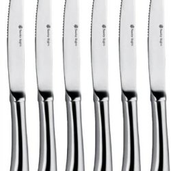 Set Of 6 Stanley Rogers Stainless Steel Steak Knives