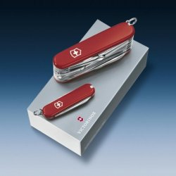 Victorinox Gift Box Duo Classic + Swisschamp Red [Vic18802]