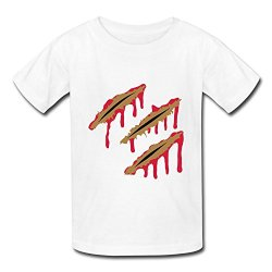 Customized O-Neck Funny Knife Cuts Children Boys And Girls T Shirt