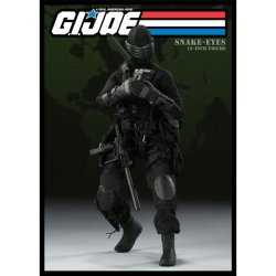 G.I. Joe Snake Eyes 12 Inch Figure By Sideshow Toys