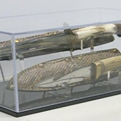 Double Knife Display Case With Sheath Or Scabbard Holder, 18 Inch (50018Dn)