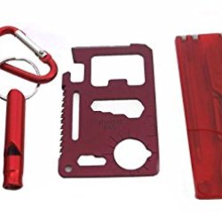 Survival Mini Tools Set (Red)