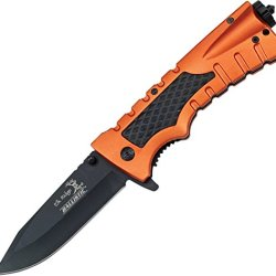 Elk Ridge Er-A001Or Folding Knife, 5-Inch