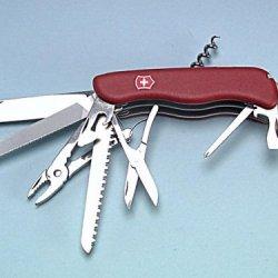 Victorinox - Workchamp Swiss Army Knife (Red) 09064