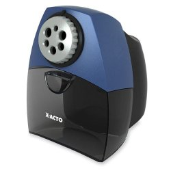 X-Acto Teacher Pro Electric Pencil Sharpener With Smartstop, Black (1675)