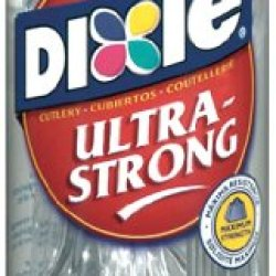 Dixie Ultrastrong Plastic Cutlery Combo, 24 Count