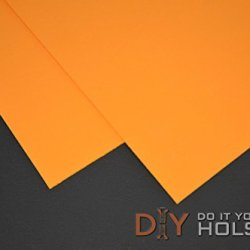 """Kydex T, P1 Haircell Finish, 8"""" X 12"""" X .080"""", Tangerine, 2 Sheets"""