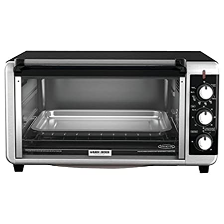 "Add some versatility to your kitchen with the Black & Decker TO3250XSB Extra-Wide Toaster Oven. The extended interior of this convenient countertop oven gives you room to fit most 13""x9"" pans, meaning you can bake lasagna, brownies, and even 12"" froz..."