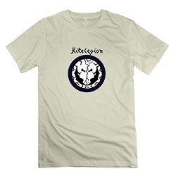 Mans Greek Front 3 T Shirt - Cool Custom Natural T-Shirt
