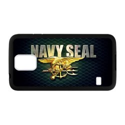 Jdsitem Unique U.S. Navy Seals Retiary Design Case Cover Sleeve Protector For Phone Samsung Galaxy S5 (Laser Technology)