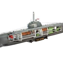 U-Boat Type Xxi German Submarine W/Interior 1/144 Revell Germany