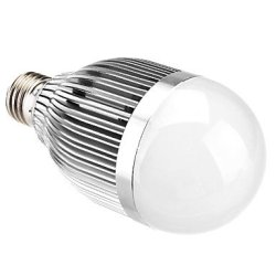 E27 9W 720Lm 3500K Warm White Led Candle Bulb(110-220V)