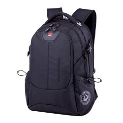 Victoriacross Business And Casual Travel Gear Laptop Daypack Backpack. Ipad Teblet Sports Outdoor School. Journey Trip Camping Bag Hiking.Fashion Macbook Computer Notebook Vc1531-Black
