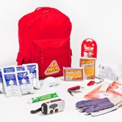 1 Person Premium Backpack Survival Kit