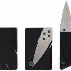 Credit Card Folding Safety Knife (Silver)