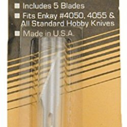 Enkay 4053 Hobby Knife Blades, Carded, 5-Piece