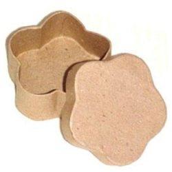 Paper Mache Mini Flower Box By Craft Pedlars