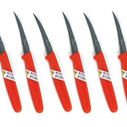 New Kiwi Carving Knife Stainless Thai Fruit Vegetable Soap Craft Kitchen Tool 6 Pcs