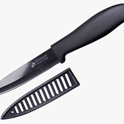 "Peterhof Fruit Knife 4"" Black Ceramic Blade High Quality Ph-22359"