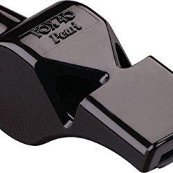 Fox 40 Pearl Safety Whistle Black W/ Lanyard 9703-0008